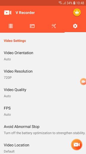 Screen Recorder, Video Recorder, V Recorder Editor screenshot 7