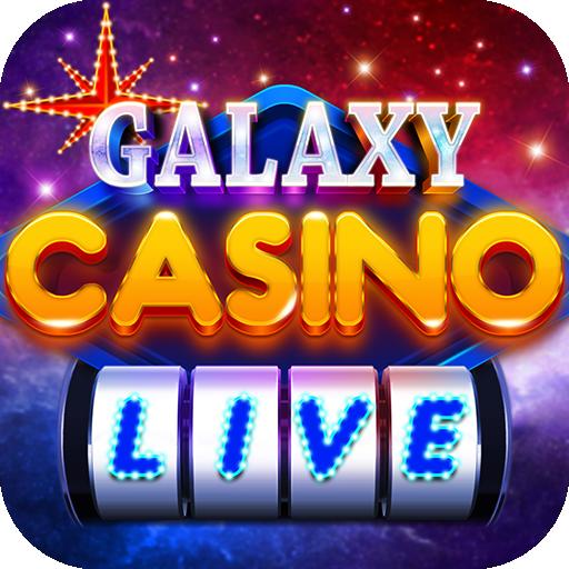 Galaxy Casino Live - Slots, Bingo & Card Game أيقونة