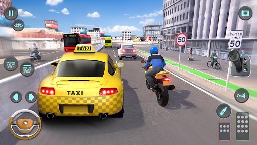 City Taxi Driving simulator: PVP Cab Games 2020 screenshot 8