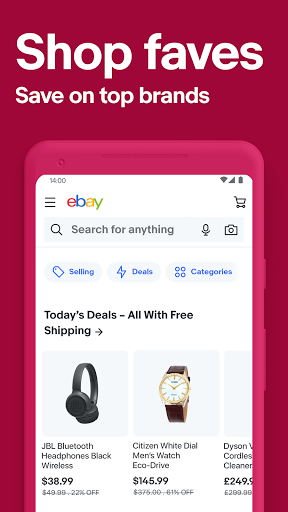 eBay - Buy, sell, and save money on your shopping screenshot 3