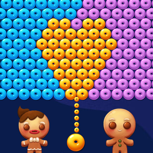 Bubble Shooter Cookie أيقونة