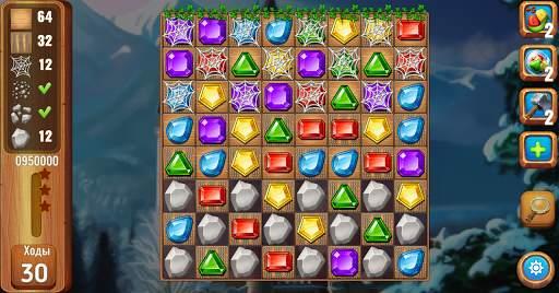 Самоцветы или кристаллы ?  Три в ряд screenshot 8
