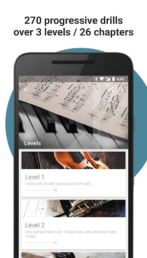 Complete Music Reading Trainer 2 تصوير الشاشة
