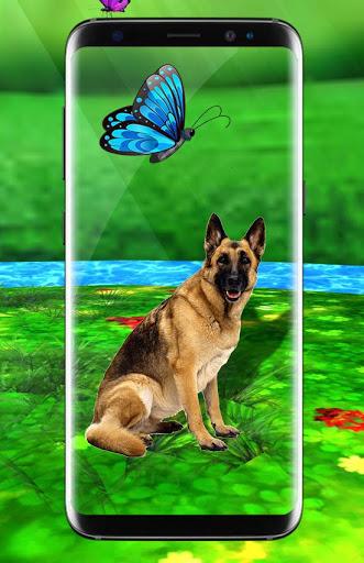 Pet Dog Live Wallpaper HD: Cute Dog Backgrounds screenshot 2