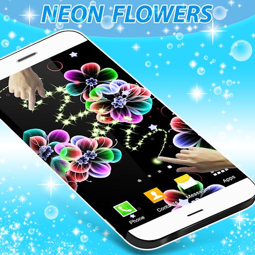 زهور النيون لايف للجدران 3 تصوير الشاشة