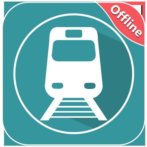 Where is my Train - Train Live Location & Status أيقونة