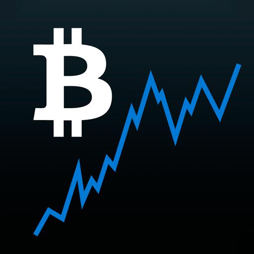 Bitcoin Ticker Widget أيقونة