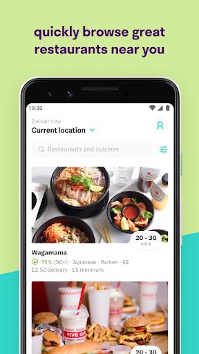 Deliveroo: Takeaway food screenshot 2