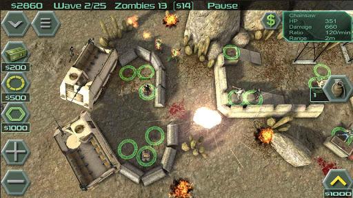Zombie Defense 15 تصوير الشاشة