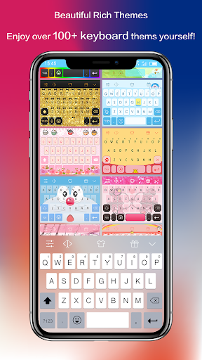 Emoji Keyboard - CrazyCorn 3 تصوير الشاشة