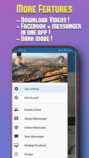 Unseen for Facebook screenshot 4