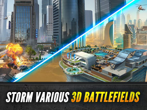 Sniper Fury: Online 3D FPS & Sniper Shooter Game 4 تصوير الشاشة