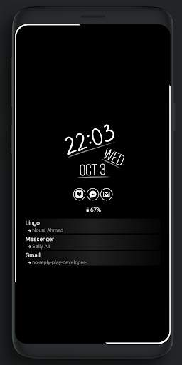 Always On Edge - LED light & AOD & Wallpapers screenshot 8