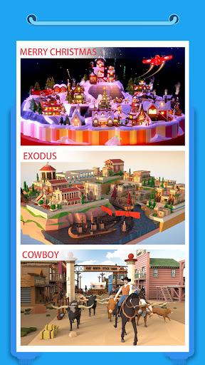 Pocket World 3D - Assemble models unique puzzle screenshot 4