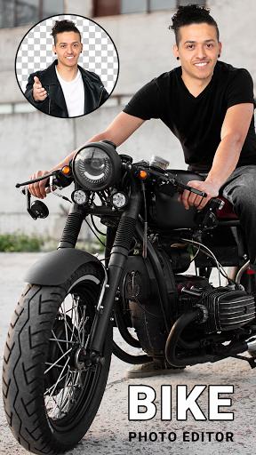 Man Bike Rider Photo Editor - photo frame screenshot 12