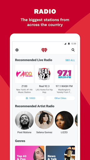 iHeartRadio: Radio, Podcasts & Music On Demand 3 تصوير الشاشة