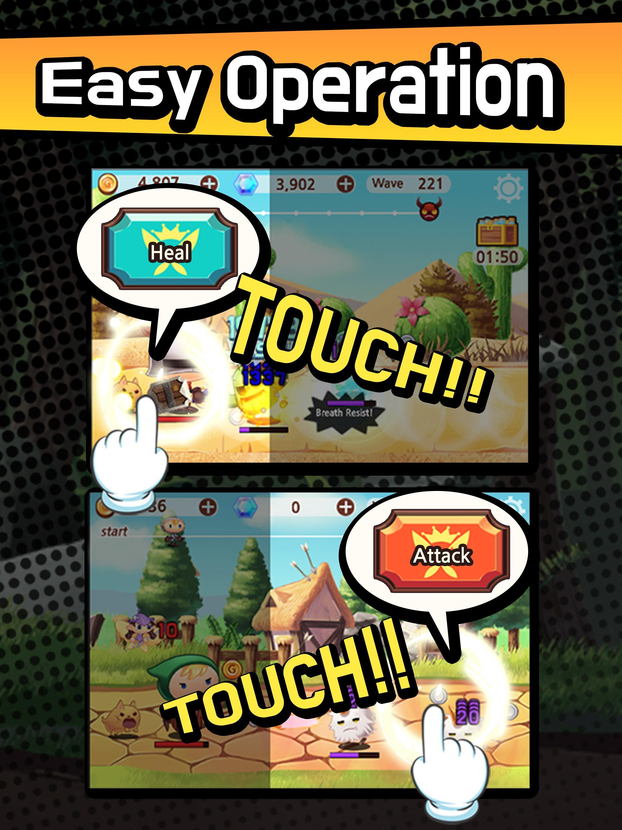 Sudden Warrior (Tap RPG) screenshot 7