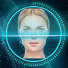 Face detection style lock screen for prank icon
