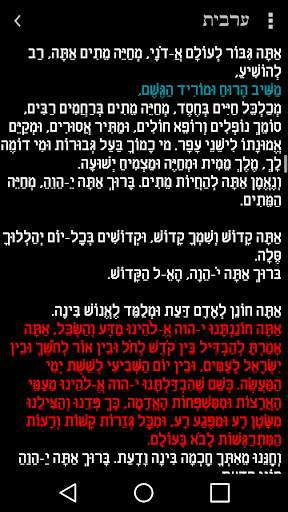 Tfilon - A free smart Siddur screenshot 4
