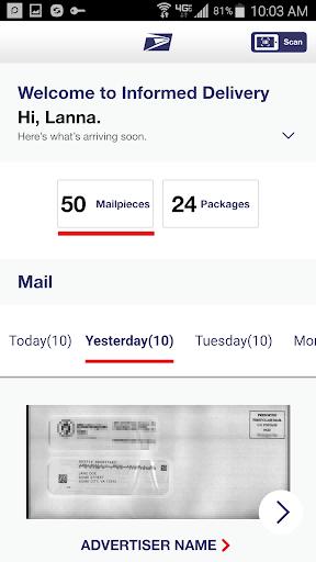 Informed Delivery® screenshot 3