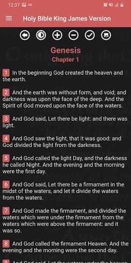 Holy Bible King James Version (Free) screenshot 8