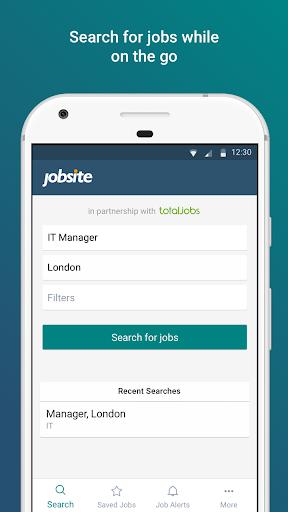 Jobsite - Find UK jobs and careers around you screenshot 1