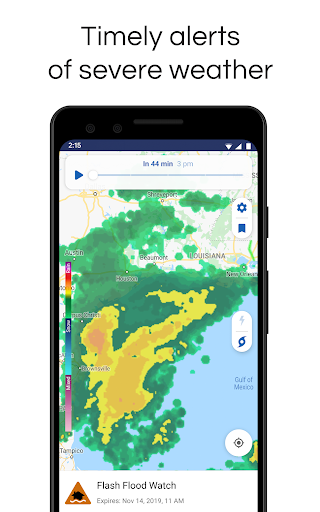 NOAA Weather Radar Live & Alerts – Clime screenshot 3
