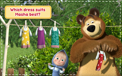 Masha and the Bear: House Cleaning Games for Girls screenshot 23