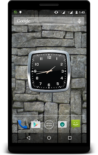 Metal Clock Live Wallpaper 1 تصوير الشاشة
