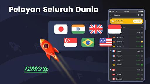 3X VPN - Melayari dengan selamat screenshot 4