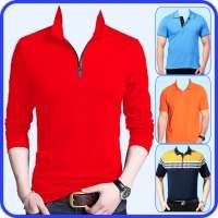 Men T-Shirt Photo Editor and Sweatshirt Dress on APKTom