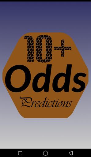 10  Odds Predictions screenshot 1