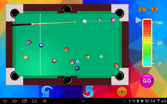 Snooker game screenshot 6