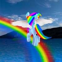 Pony on the rainbow on APKTom