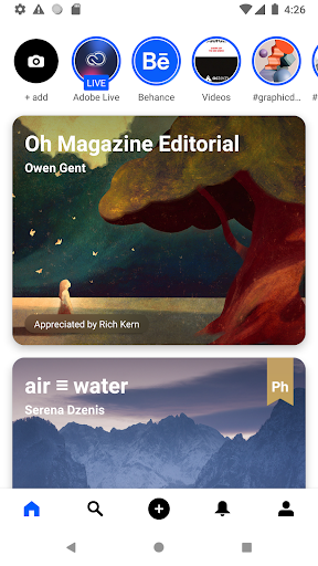 Behance: Photography, Graphic Design, Illustration 1 تصوير الشاشة