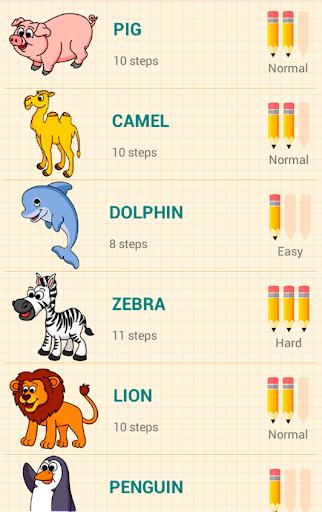 How to Draw Animals 2 تصوير الشاشة