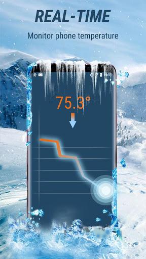 CPU Cooler - Cooling Master, Phone Cleaner Booster screenshot 1
