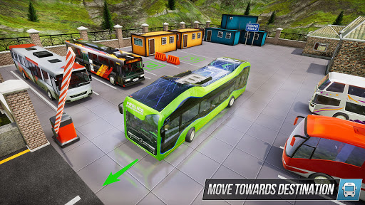 Modern Bus Simulator New Parking Games – Bus Games screenshot 4