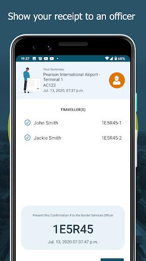 ArriveCAN screenshot 8