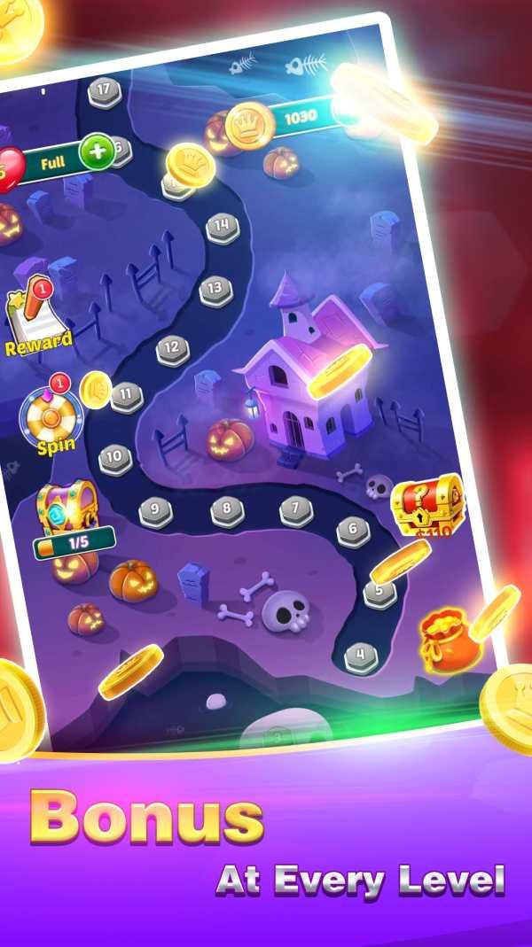 Golden Bubble Shooter screenshot 2