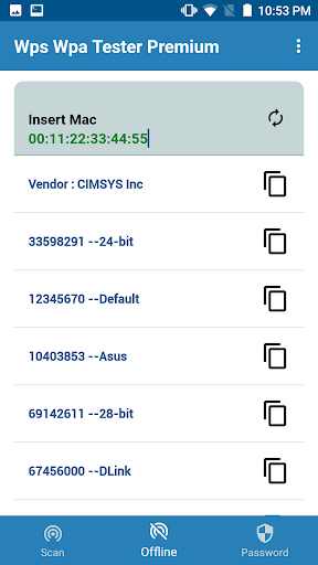 WIFI WPS WPA TESTER screenshot 2