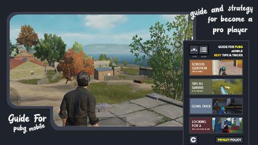 Guide For PUBG Mobile Guide Tips screenshot 3