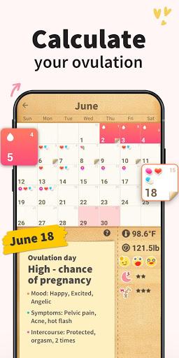 Period Tracker - Period Calendar Ovulation Tracker screenshot 3