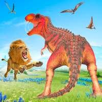 liar vs dinosaurus: simulator pertempuran hewan on 9Apps