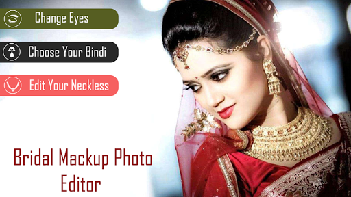 Bridal Mackup Photo Editor screenshot 2
