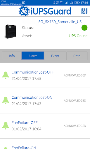 iUPSGuard screenshot 2