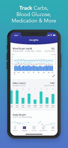 Glucose Buddy Diabetes Tracker 3 تصوير الشاشة