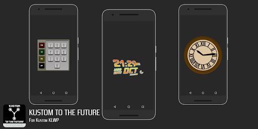 Kustom to the Future for KLWP screenshot 2