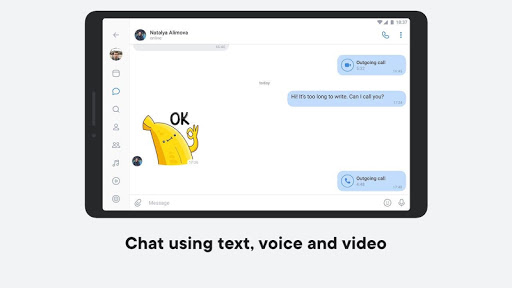 VK — live chatting & free calls screenshot 8