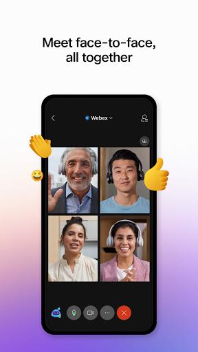 Cisco Webex Meetings 1 تصوير الشاشة